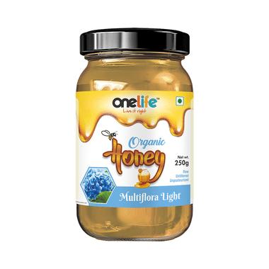 OneLife Organic Multiflora Light Honey