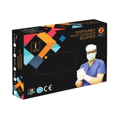 1Mile Disposable Medical Examination Glove XS