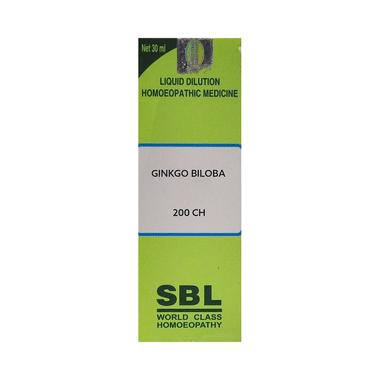 SBL Ginkgo Biloba Dilution 200 CH